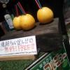 【フルーツジュース屋@鎌倉駅】小町通りにある小袖さんにて、グレープフルーツをそのまま繰り抜いたジュースの焼酎ちょい足しを注文して、エネルギー補充しながらの鎌倉散策開始です。